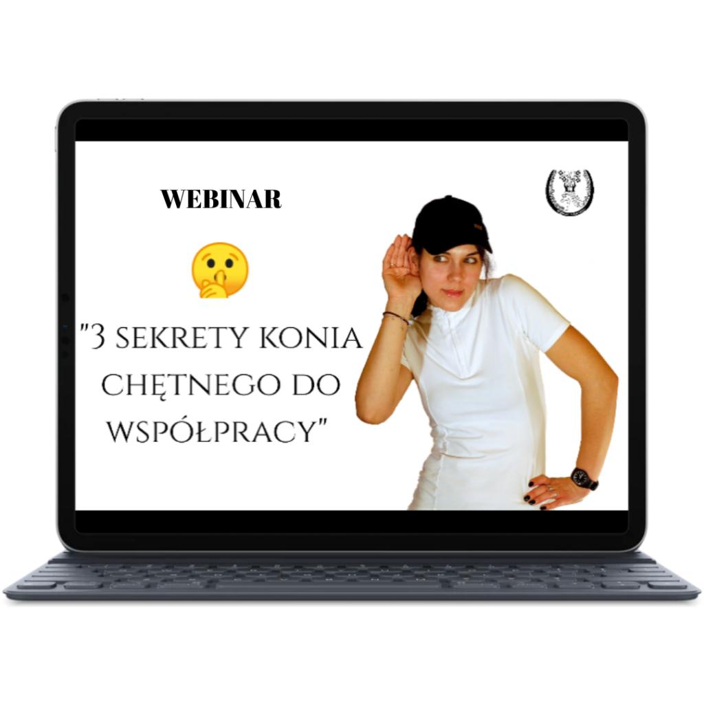 WEBINAR 3 Sekrety Konia Chętniego Do Współpracy